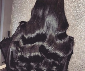 hair, black, and style image