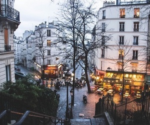 city, light, and paris image