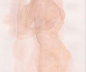 body, Nude, and drawing image