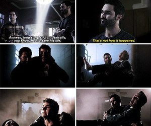 derek, stiles, and tyler hoechlin image