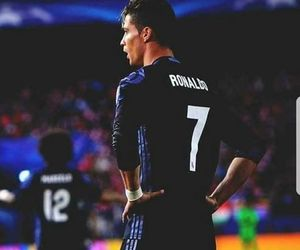 real madrid, Ronaldo, and cr7 image