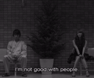 people, quotes, and sad image