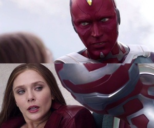 Avengers, couple, and elizabeth olsen image