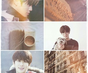 brown, nct127, and coffee image