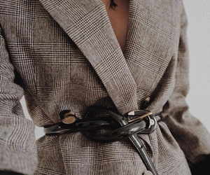 belt, blazer, and fashion image