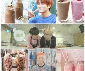 chocolate, jaehyun, and milkshake image