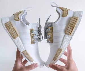 adidas, gold, and fashion image