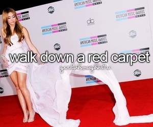 red carpet and girly thoughts image