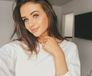 jess conte, girl, and beauty image