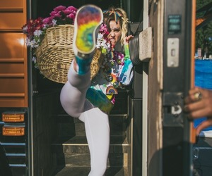miley cyrus, happy hippie, and dirty hippie image