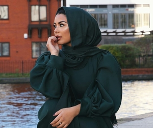 fashion, hijab, and mode image