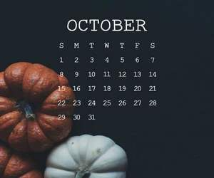 fall, autumn, and october image