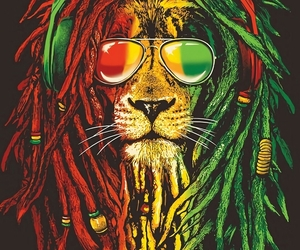 lion, reggae, and wallpaper image
