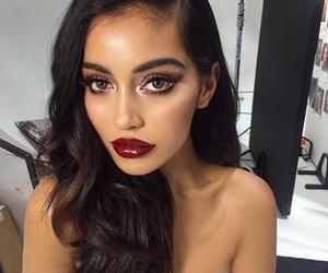 girls, Halloween, and makeup image