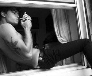 black and white, sexy, and Francisco Lachowski image