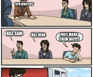 funny, meme, and spn image