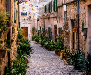 spain and street image