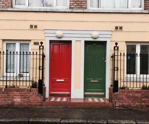 colour, doors, and dublin image