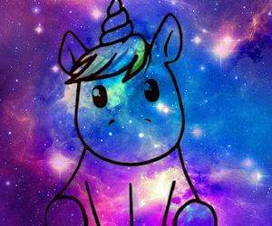 unicorn and galaxy image