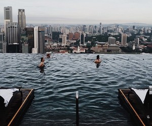 tumblr, view, and swimpool image