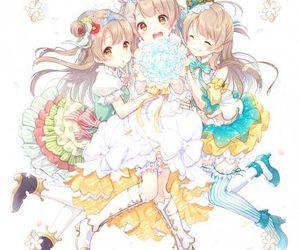 anime girl, kotori minami, and beautiful image