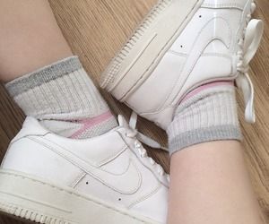 aesthetic, nike, and soft image