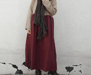 dress, etsy, and maxi dress image