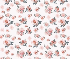 backround, floral, and wallpaper image