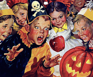 Halloween and kids image