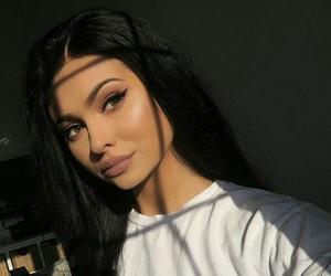 girl, makeup, and kylie jenner image