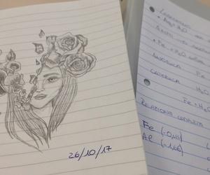 arte, blackandwhite, and draw image