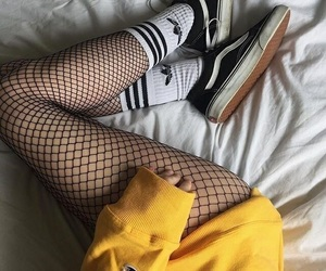 cool, edgy, and fishnets image