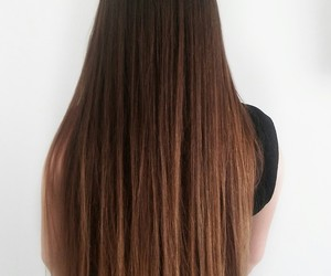 aesthetic, girls, and long hair image