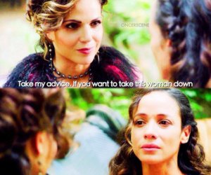 cinderella, once upon a time, and evil queen image