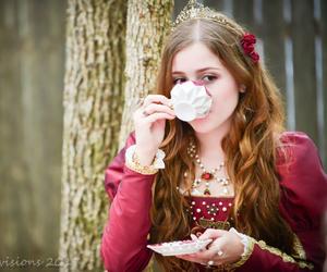 princess, tea, and renaissance image