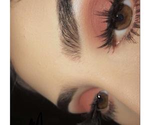 baking, brown eyes, and eye makeup image