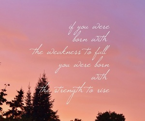 iphone, quotes, and sunset image