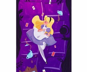 alice in wonderland, wallpaper, and cute image