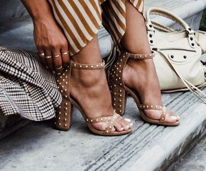 blogger, shoes, and street style image