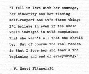 f. scott fitzgerald, poem, and reading image