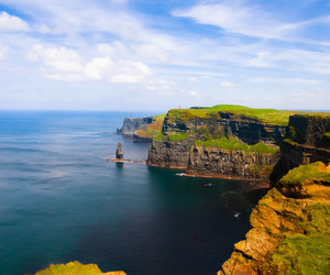 cliffs of moher, europe, and holiday image