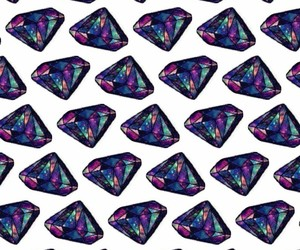 colors, diamond, and galaxy image