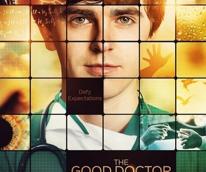 shaun murphy, freddie highmore, and the good doctor image