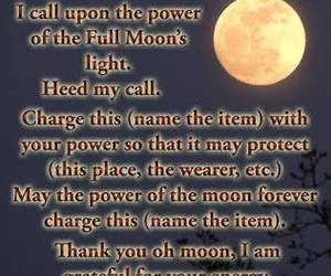amulet, bruja, and luna image