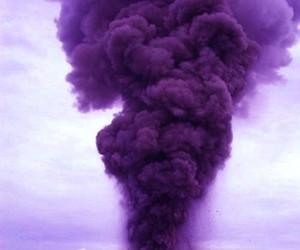 purple and smoke image