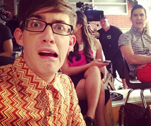 darren criss, kevin mchale, and glee image