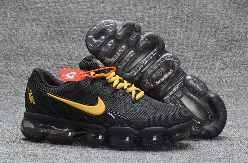 Cheap Nike Air Max 2018 Gold Black Sneakers on We Heart It