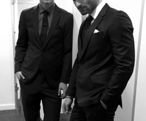 beauty, black and white, and class image