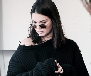 kendall jenner, style, and black image