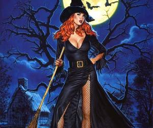 redhot redhead witch image